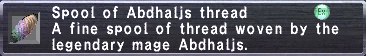 Abdhaljs Thread