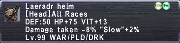 Laeradr Helm description