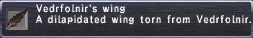 Vedrfolnir's Wing