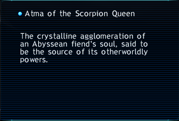Atma of the Scorpion Queen