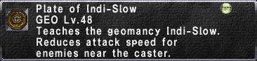 Indi-Slow
