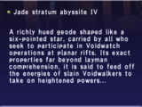 Jade Stratum Abyssite IV