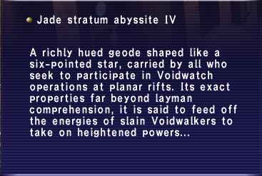 Jade abyssite IV