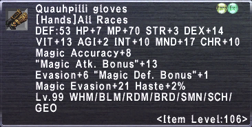 Quauhpilli Gloves