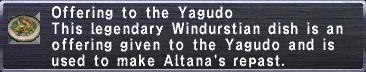 Yagudo Offering