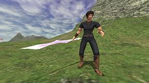 Aern Sword Ingame
