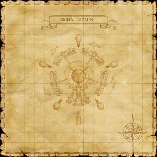 Escha Ru'Aun Map