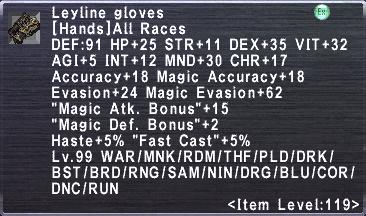 Leyline Gloves