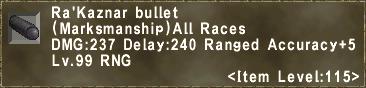 Ra'Kaznar bullet