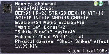 Hachiya chainmail