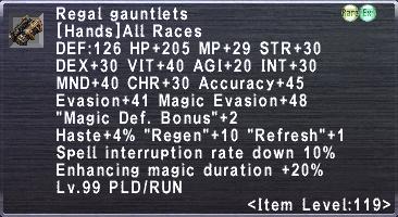 Regal Gauntlets