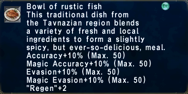 Rustic fish