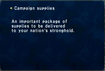 Campaign Supplies