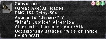 Conqueror99Afterglow