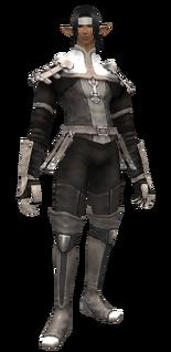 Leather Vest Set (Elvaan M)