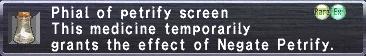 PetrifyScreen
