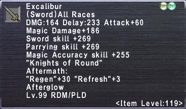 Excalibur 119 III