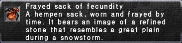 Frayed Sack of Fecundity