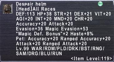 Despair Helm
