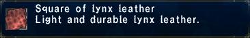 Lynx Leather