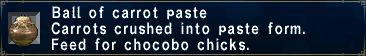 Carrotpaste