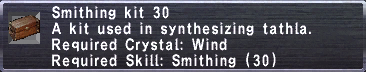 Smithing Kit 30