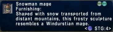 SnowmanMage