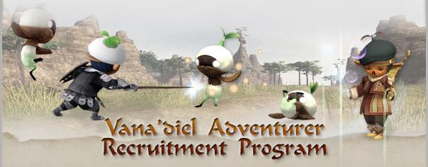 The Vana'diel Adventurer Recruitment Program