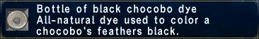 BlackChocoboDye