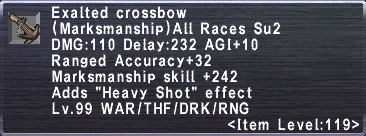 Exalted Crossbow