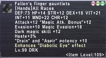 Fallen's Finger Gauntlets