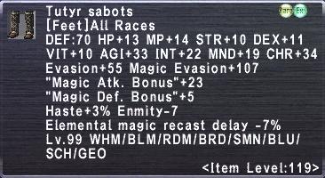 Tutyr Sabots