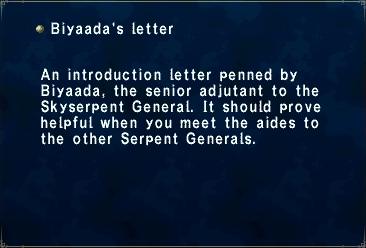 Biyaadas Letter