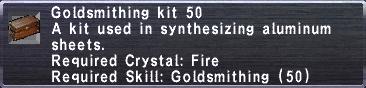 Goldsmithing Kit 50