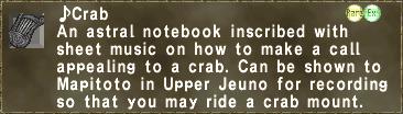 ♪Crab