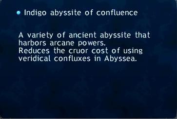 Indigo Abyssite Of Confluence