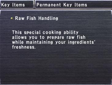 Raw Fish Handling