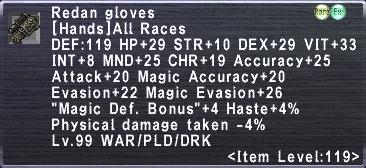 Redan Gloves