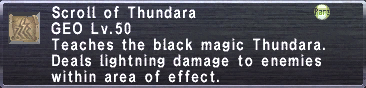 Scroll of Thundara