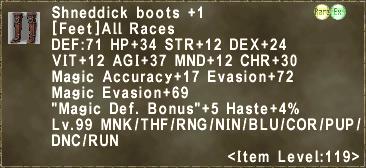 Shneddick boots +1