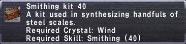 Smithing Kit 40