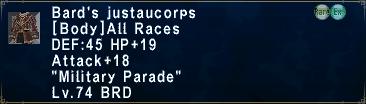 BardsJustaucorps