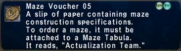 Maze Voucher 05