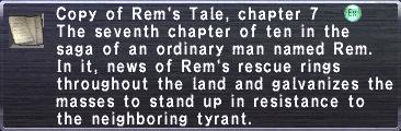 Rem's Tale, chapter 7