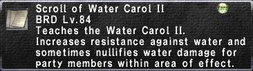Water Carol II