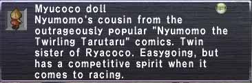 Myucoco doll