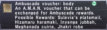 Ambuscade Voucher Body