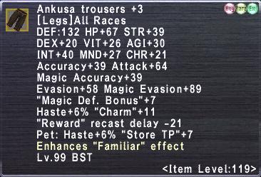 Ankusa Trousers +3