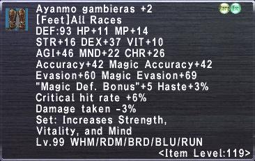 Aynamo Gambieras +2