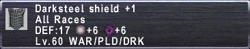 Darksteel Shield +1